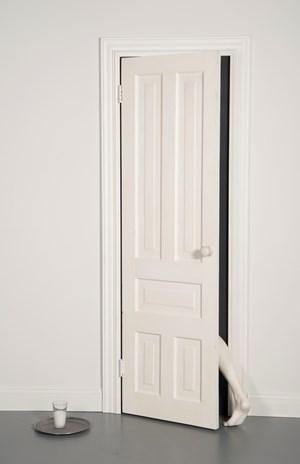 White Exit by Julião Sarmento contemporary artwork