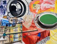 Smoke Kools by David Salle contemporary artwork painting