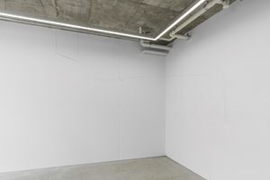 Room Drawing (axis) #1 by Jong Oh contemporary artwork