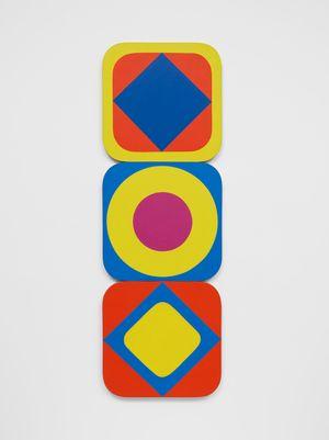 Squares - Circles by Leon Polk Smith contemporary artwork