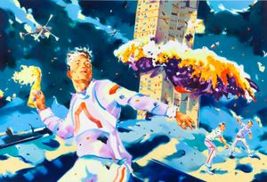 Unrest by Norbert Bisky contemporary artwork
