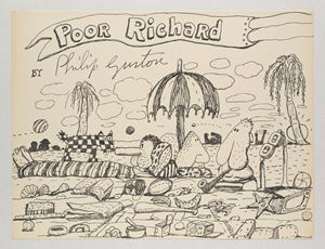 Untitled (Poor Richard) by Philip Guston contemporary artwork