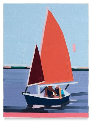 Sailboat by Guy Yanai contemporary artwork
