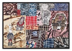 Parages fréquentés by Jean Dubuffet contemporary artwork