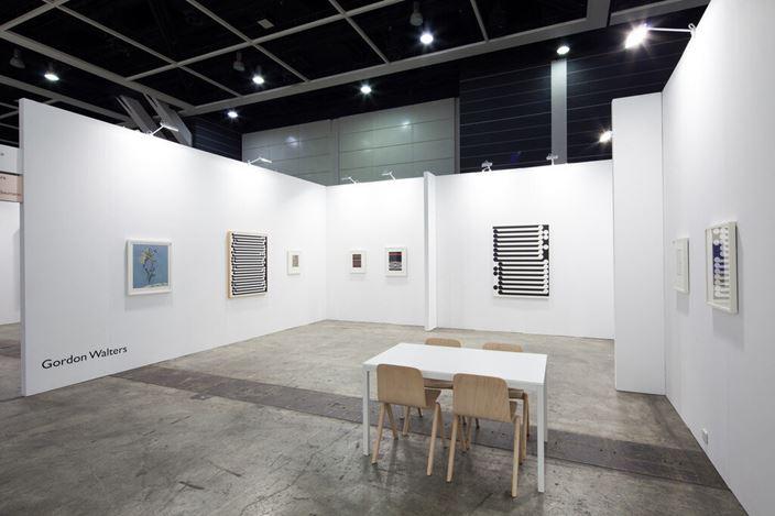 Gordon Walters, Art Basel Hong Kong, installation view, 2014.
