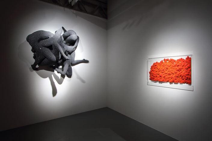 Exhibition view:Kohei Nawa,Biomatrix,SCAI THE BATHHOUSE, Tokyo (10 October–8 December 2018). Courtesy of SCAI THE BATHHOUSE.Photo by Kei Miyajima.