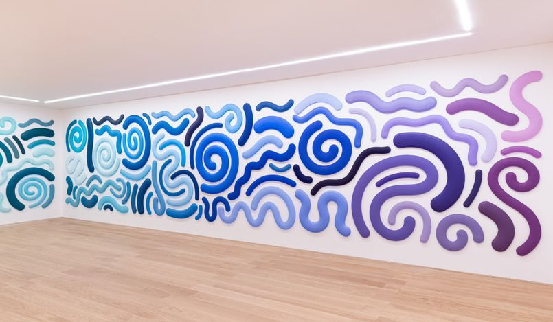 Exhibition view: Josh Sperling,Spectrum, Perrotin, Hong Kong (8 May–14 June 2021). Courtesy the artist and Perrotin.