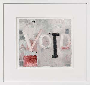 (a)void by Fiona Hall contemporary artwork painting