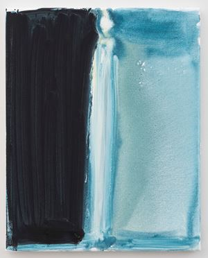 Candle by Marlene Dumas contemporary artwork painting, works on paper