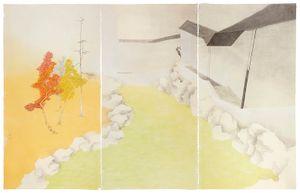 Green Garden by Shen Qin contemporary artwork
