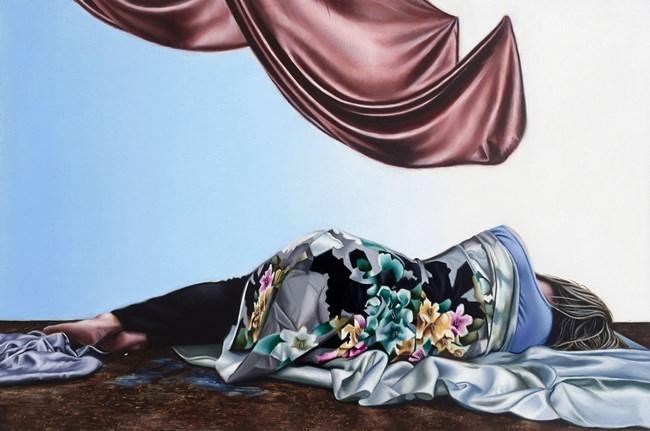 Flora by Natasha Bieniek contemporary artwork