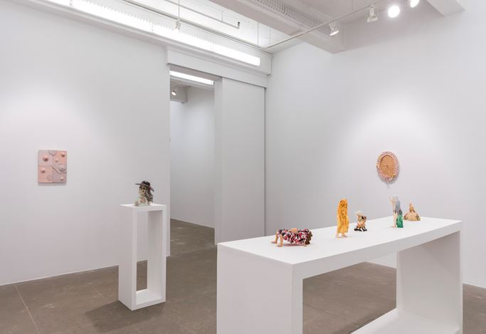 Exhibition view: Jessica Stoller,Spread, P·P·O·W Gallery, New York (9 January–15 February 2020). CourtesyP·P·O·W Gallery.