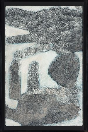 Ganyu Djulpan by Nyapanyapa Yunupiŋu contemporary artwork painting