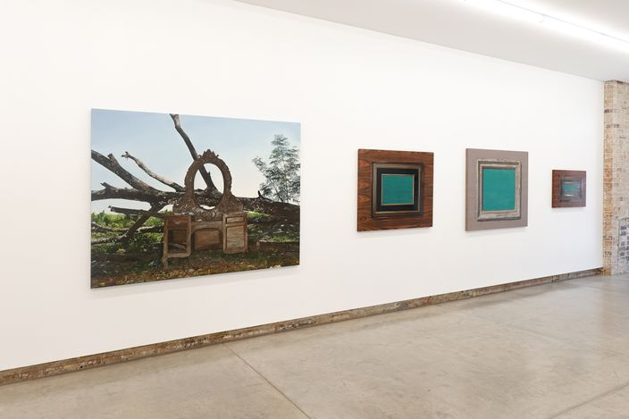 Exhibition view: Nona Garcia, Somewhere Between the Forest and the Ocean, Yavuz Gallery, Sydney (14 May–5 June 2021). Courtesy Yavuz Gallery.