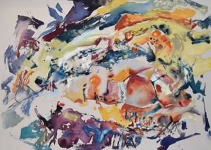Element c-m-7 by Anne Kagioka Rigoulet contemporary artwork
