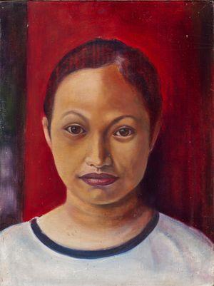 Self Portrait by Marina Cruz contemporary artwork