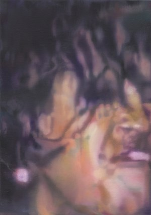 Untitled (woman scream shadow) by Johannes Kahrs contemporary artwork