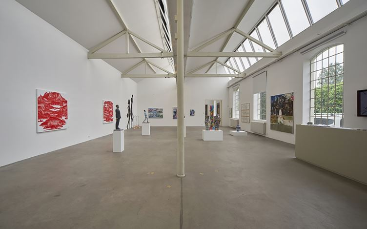 Exhibition view: Group Exhibition,Have A Good Day, Mr. Kim!, CHOI&LAGER Gallery, Cologne (27 June–21 August 2015). Courtesy CHOI&LAGER Gallery.