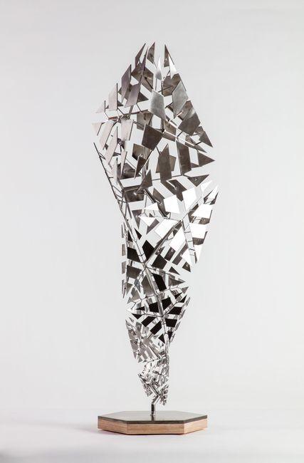Fracture (B14S18) by Conrad Shawcross contemporary artwork