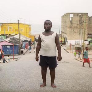 Le garçon à Takoradi by Denis Dailleux contemporary artwork photography