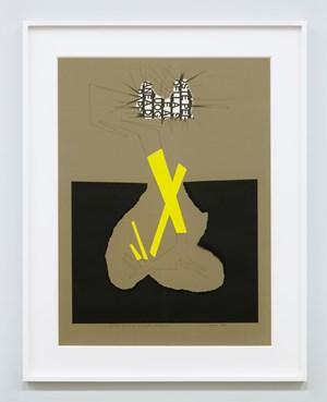 Ricostruzione teorica di un oggetto immaginario 11 by Bruno Munari contemporary artwork