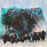 Land Allowed to Lie Waste by Chu Ko contemporary artwork painting, works on paper