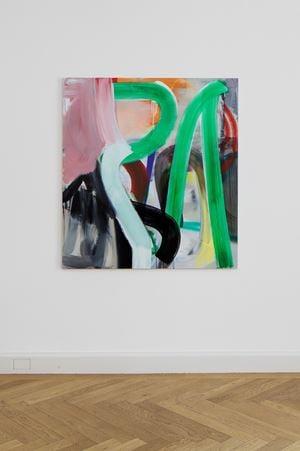 Strident Green by Liliane Tomasko contemporary artwork