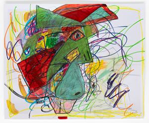 Unfinished Masterpiece Fifteen by Rachel Harrison contemporary artwork