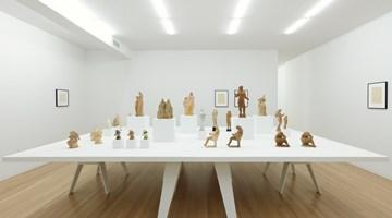 Contemporary art exhibition, Elie Nadelman, Papier-mâché at Galerie Buchholz, New York