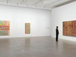"""Frank Bowling<br><em>Frank Bowling – London / New York</em><br><span class=""""oc-gallery"""">Hauser & Wirth</span>"""
