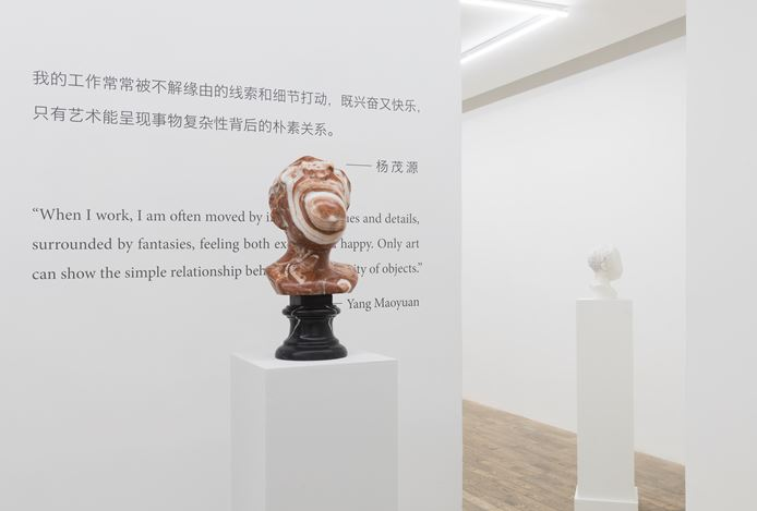 Exhibition view: Yang Maoyuan, Backup Copies of Memory, HdM GALLERY, Beijing (5 September–10 October 2020). Courtesy HdM GALLERY.