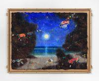 Padang Moon by Ashley Bickerton contemporary artwork painting