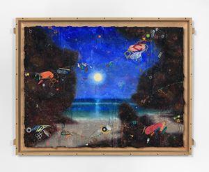 Padang Moon by Ashley Bickerton contemporary artwork