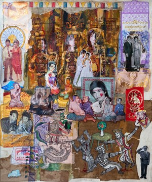 Murder Wedding by Leang Seckon contemporary artwork