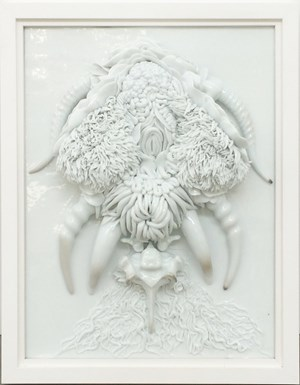 Corruption of flesh, parasite series no. 5 by Juz Kitson contemporary artwork