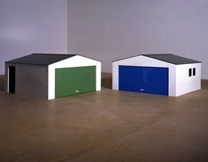 Garage? by Julian Opie contemporary artwork