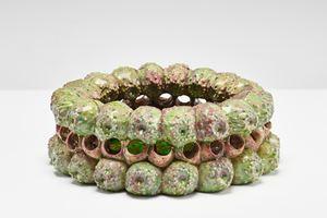 Cactus by Wietske Van Leeuwen contemporary artwork sculpture, ceramics