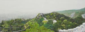 Study of Green-Seoul-Vacant Lot-Inwangsan (Mt.) by Honggoo Kang contemporary artwork