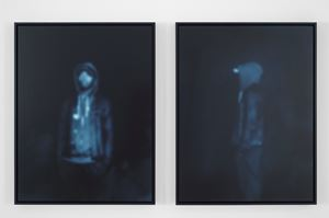 All the Boys (Profile 2) by Carrie Mae Weems contemporary artwork photography