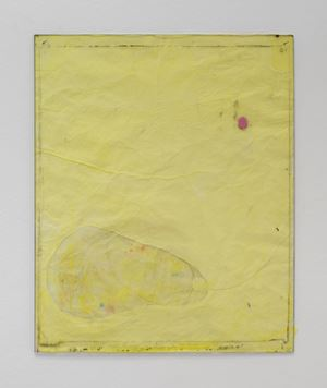 Endnote, yellow (limb) by Ian Kiaer contemporary artwork