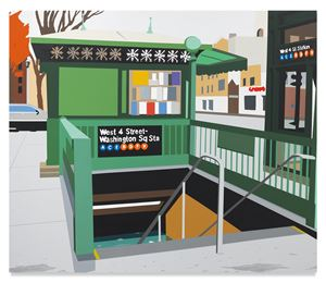 W. 4th St. by Brian Alfred contemporary artwork