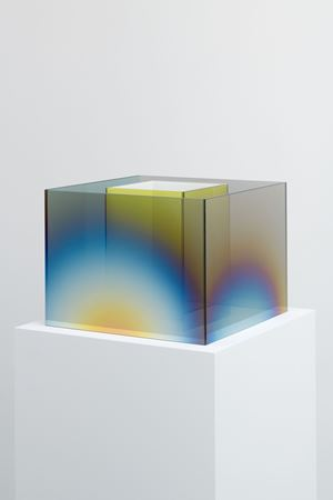 Untitled by Larry Bell contemporary artwork sculpture