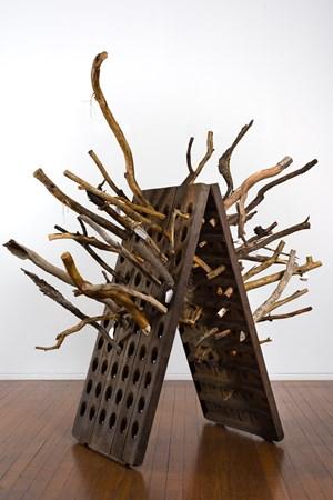 Echidna Riddler by John Wolseley contemporary artwork