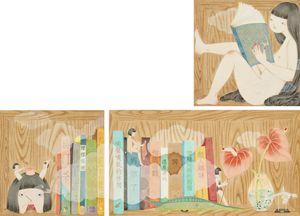 The Dwarves Who Borrow Words by Joey Ka-yin Leung contemporary artwork