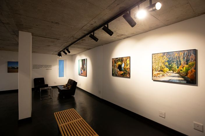 Exhibition view: Johno Mellish and Nyasha Marovatsanga, Different Angles, THK Gallery, Cape Town (7 February–16 April 2020). Courtesy THK Gallery.