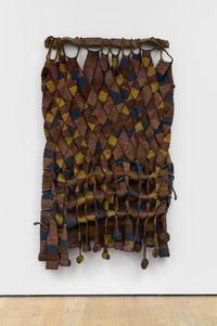 Manto de greda [Clay Mantle] by Olga de Amaral contemporary artwork sculpture