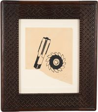 Untitled (à Tristan Tzara) by Francis Picabia contemporary artwork painting, works on paper, drawing
