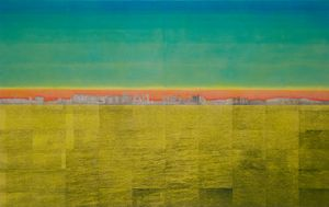 Yellow Line by Sejin Kwon contemporary artwork