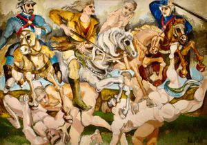 Horsemen of the Apocalypse by Audrey Flack contemporary artwork