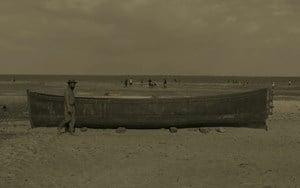 Still from Boat Trip by Samson Kambalu contemporary artwork